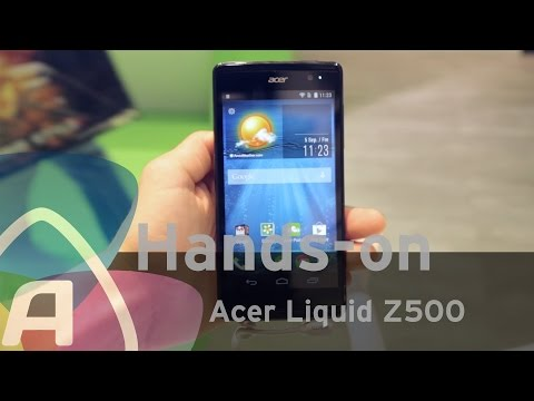 Acer Liquid Z500 hands-on (Dutch)