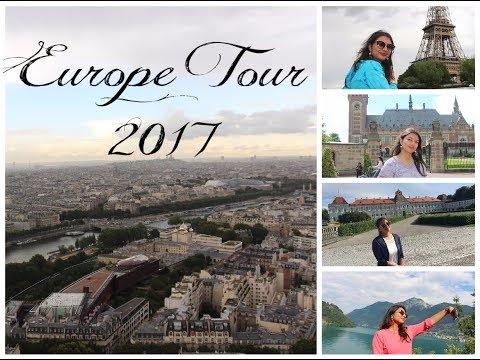Europe Tour 2017   France-Belgium-Netherlands-Germany-Switzerland-Italy  