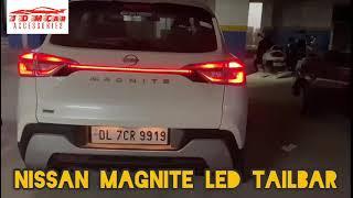 Nissan Magnite LED Tail Bar Installation. #shorts #youtube #youtubeshorts #tata #nissan #car #LED