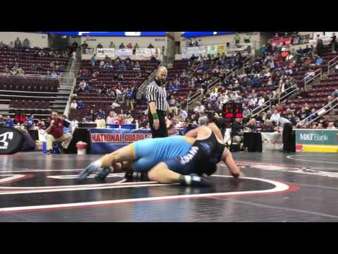 PIAA wrestling: Francis Duggan, Cedar Cliff, vs. Greg Bensley, Pocono Mountain West