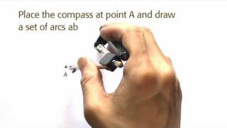 how to find the midpoint of a line segment using a perpendicular bisector