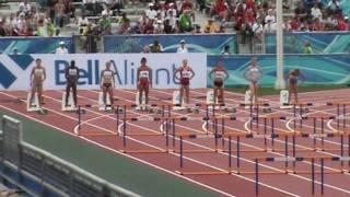 IAAF World Junior Championships Moncton 2010 - 100m hurdles women heat 3