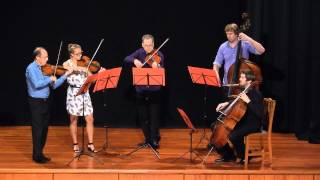 Donald Armstong Quintet playing Mozart