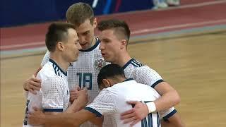 Обзор матча квалификации ОЧЕ 2022 по мини футболу Россия Грузия