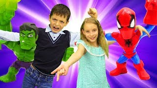 Конкурс от Fruttis - Катя и Юра придумали игру с игрушками