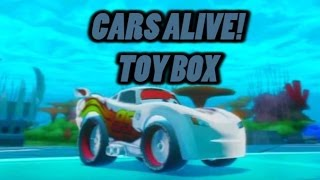 Cars Alive! Disney Infinity Gameplay, Toybox Race Whit Silver Lightning Mcqueen