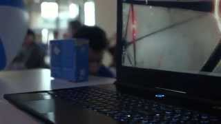 "ORIGIN PC EVO15-S, less than 1"" thick - PAX Prime 2014"