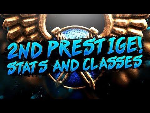 COD WW2  - 2nd Prestige SnD Stats & Classes!