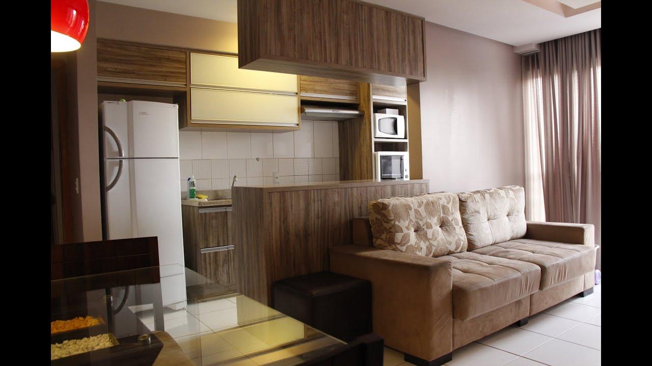 Lindo apartamento de 2 quartos um su te completo em for Apartamentos sencillos y bonitos