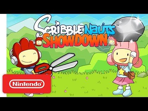 Official Scribblenauts Showdown Announcement Trailer - Nintendo Switch