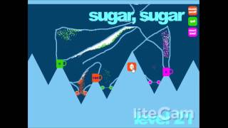 Sugar, Sugar - Levels 19-23 Walkthrough