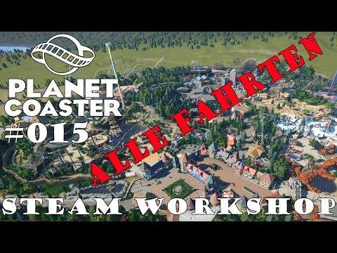 Planet Coaster Themenpark [Alle Fahrten] - Community Park 🎢 PLANET COASTER 🎠 Park Vorstellung #015