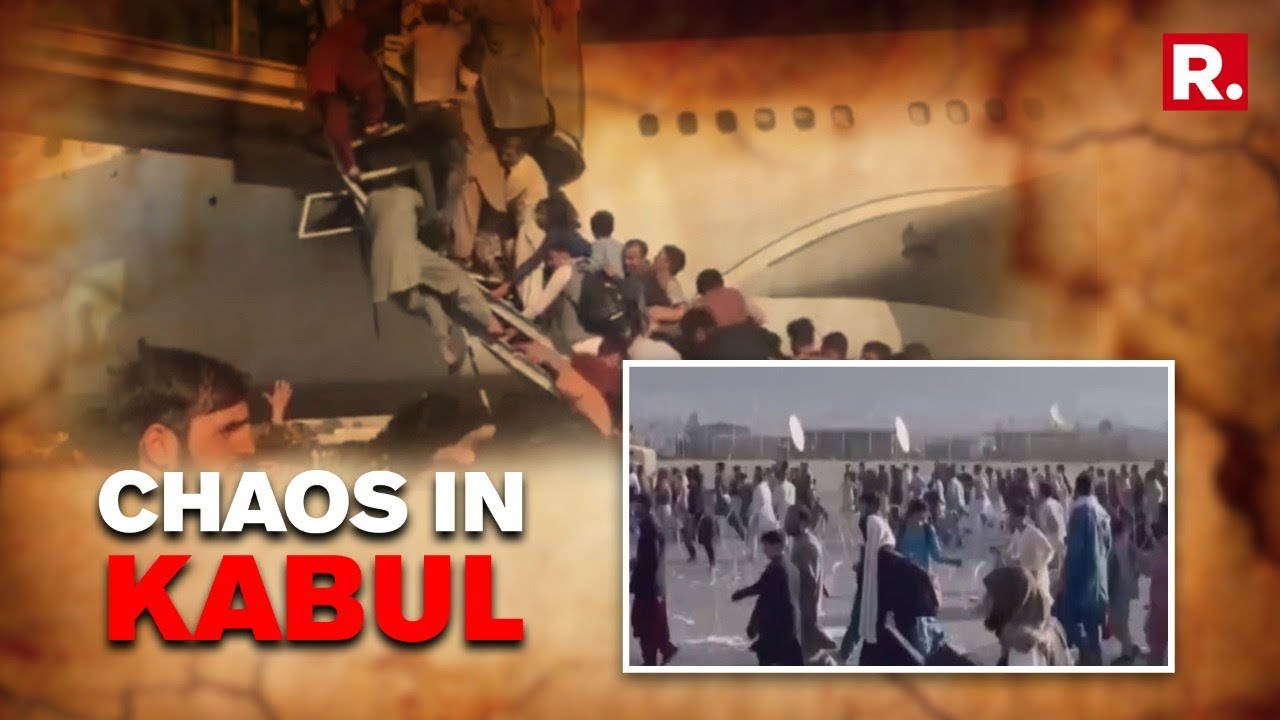 Kabul Airport a Scene of Chaos After Blasts