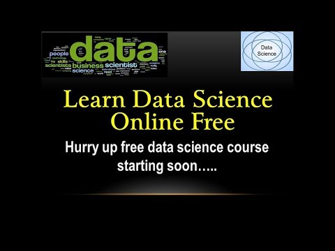 Data science course | Data scientist course online FREE
