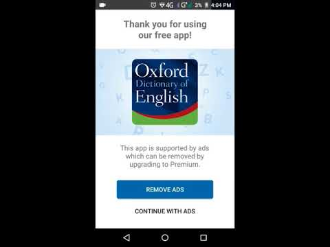 Free Oxford Dictionary Premium  For Android Offline   How To Download