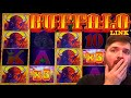 MASSIVE WIN ON NEW Buffalo Link Slot Machine!