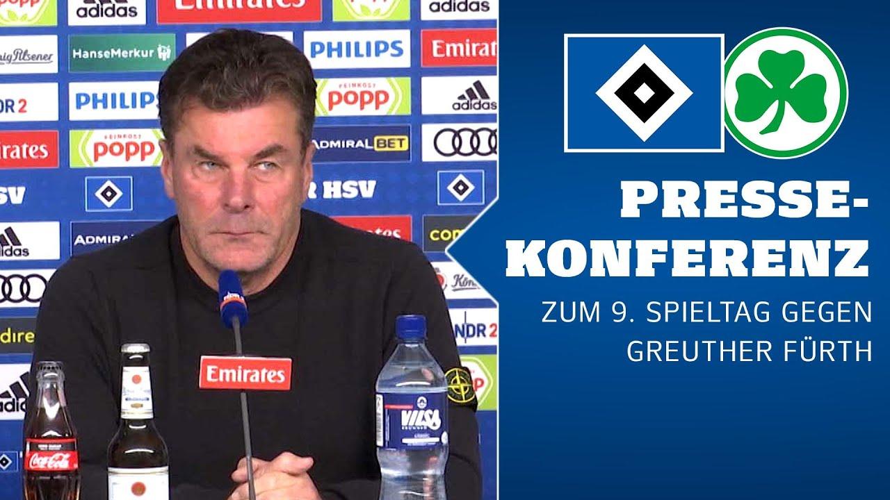 RELIVE: Die Pressekonferenz vor dem Heimspiel gegen die SpVgg Greuther Fürth