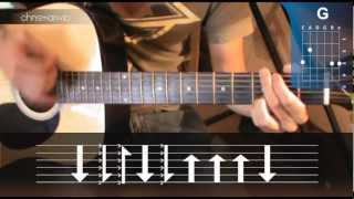 Cómo tocar LA BAMBA en Guitarra Acústica (HD) Tutorial Fácil - Christianvib