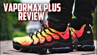 d599e34604e Nike Air Vapormax PLUS Review! MOST COMFORTABLE NIKE SNEAKER