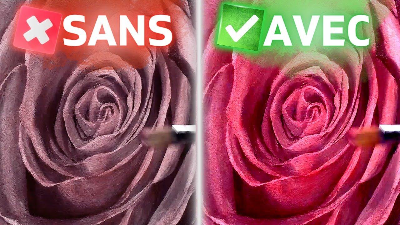 Les avantages des glacis en peinture- Cours de peinture à l'huile et peinture acrylique - YouTube