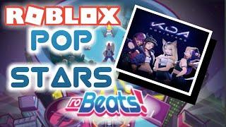 [ROBEATS!] Pop Stars (Normal) by KDA ~ Full Combo/A+ Rank! ~   Roblox
