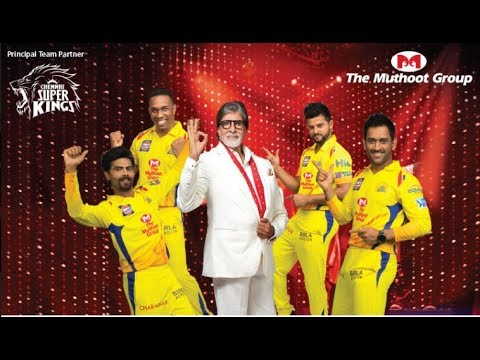 """The Muthoot Group Roars """"Vazhkaiyil Munnerungal'' with CSK & Amitabh Bachchan! [Tamil]"""