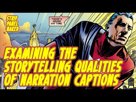 Examining Narrative Captions in Comic Books | Strip Panel Naked
