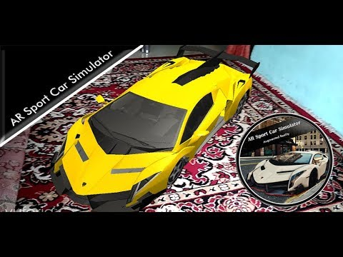 Demo AR Sport Car Simulator Games For Android Platform