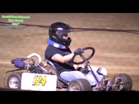 Dallas County Raceway Box Stock A Features Race 1 and 2 August 8, 2017