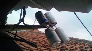 Memperbaiki antena TV HD dari kaleng