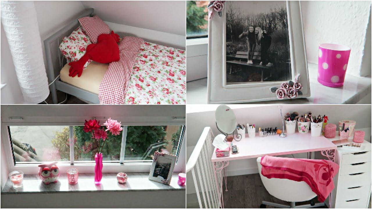 ROOMTOOUR - Mein Mädchenzimmer - YouTube