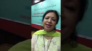 Tooti Hai Meri Neend Magar: Rashmi Agarwal: A Parveen Shakir Ghazal. At #GhalibinstituteDelhi