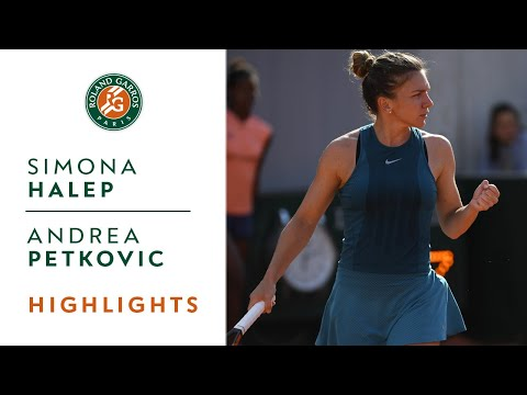 Simona Halep vs Andrea Petkovic - Round 3 Highlights I Roland-Garros 2018