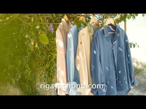Camisas masculinas linho e calções Coleção Verão 2018 Riga    |    Linen shirts and swimshorts Riga