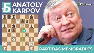 TOP 5 MOMENTOS HISTÓRICOS de KARPOV