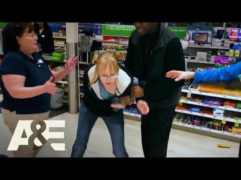 Woman Caught Shoplifting Refuses to Cooperate   I Survived a Crime   A&E