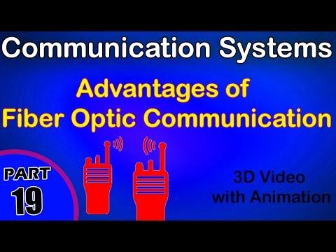 Advantages of Fiber Optic Communication|Communication System|class 12 physics notes|CBSE|IITJEE|NEET