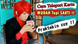 Cara Teleport Kartu MUDAH Tapi SAKTI !! ~ #MagicTutorial