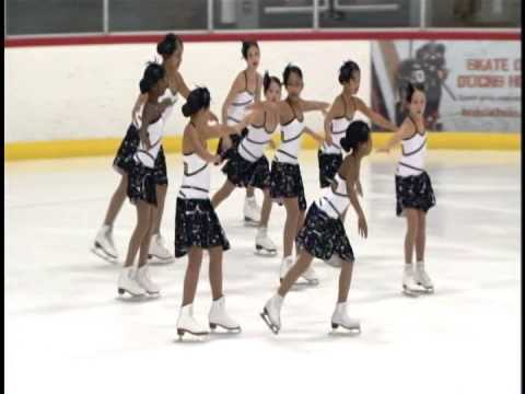 Fusion Advance Formation- 14th Annual Anaheim Ice Synchronized Team Championships 2014