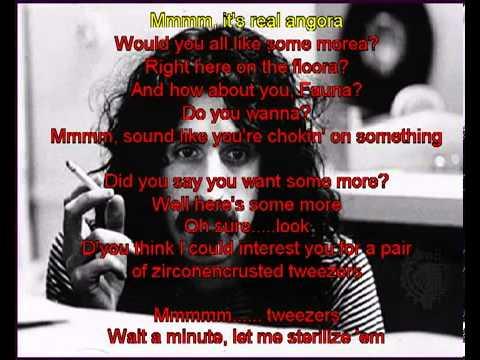 Frank Zappa   Dinah Moe Hum lyrics