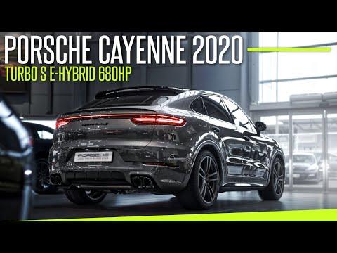 Porsche Cayenne 2020 Turbo S E-Hybrid 680HP