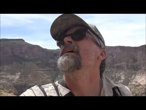 Salt River Cave Massacre: Skeleton Cave The Hike Up (part 1 of 2)