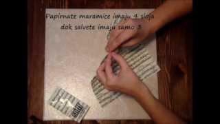 Repeat youtube video Decoupage (Stiropor)