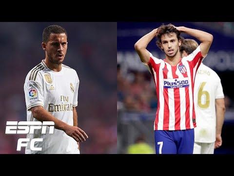 Atletico Madrid vs. Real Madrid analysis: Hazard and Felix disappoint | La Liga