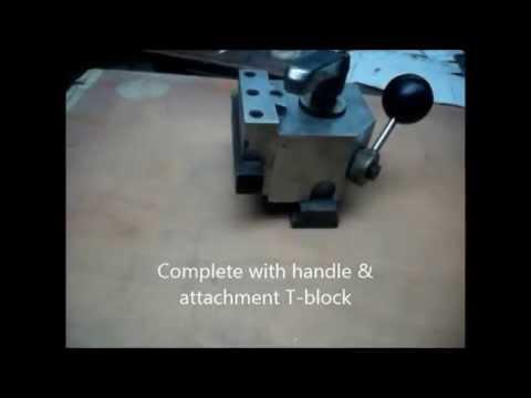 Quick Change Toolpost   Aluminium Alloy Body & Toolholders