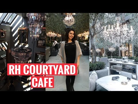 EXPLORING TORONTO | The RH Courtyard Café in Yorkdale Mall
