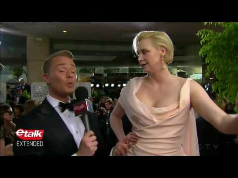 Gwendoline Christie ETalk Golden Globes 2017 Interview