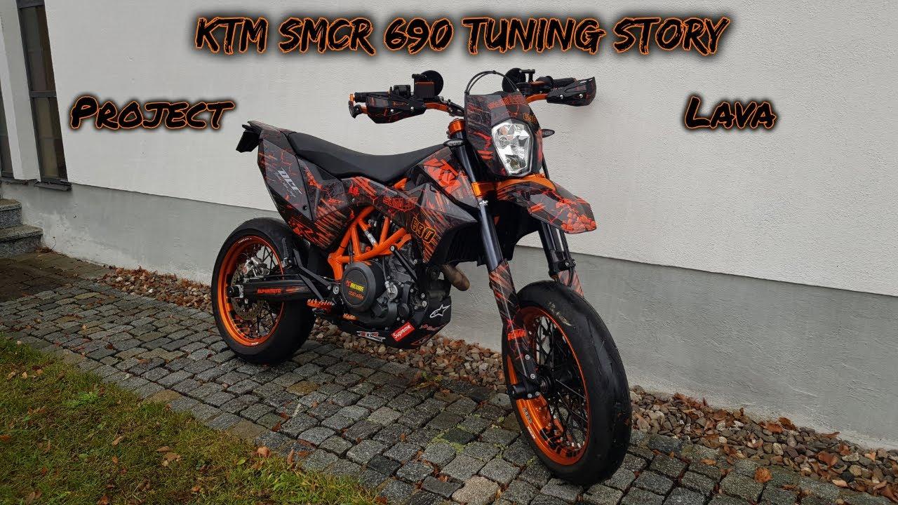 ktm smcr 690 tuning story project lava bikeporn. Black Bedroom Furniture Sets. Home Design Ideas