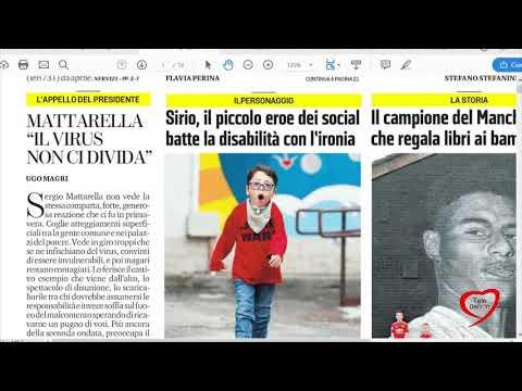 I giornali in edicola - la rassegna stampa 18/11/2020
