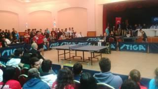 GENCAY MENGE -- İBRAHİM PEKDOĞAN ( Üniversiteler Masatenisi Şampiyonası 2015 KEMER ) takım maçı. - Türkiye Üniversiteler Masatenisi Şampiyonası 2015 Antalya/Kemer.